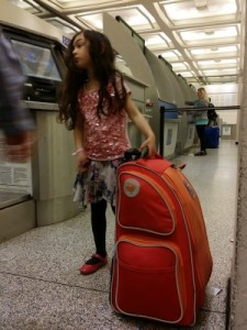 Childrens suitcase